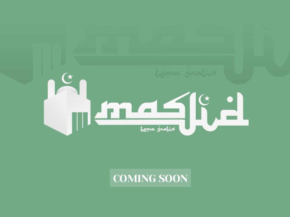 WP Masjid - Tema Khusus Website Masjid