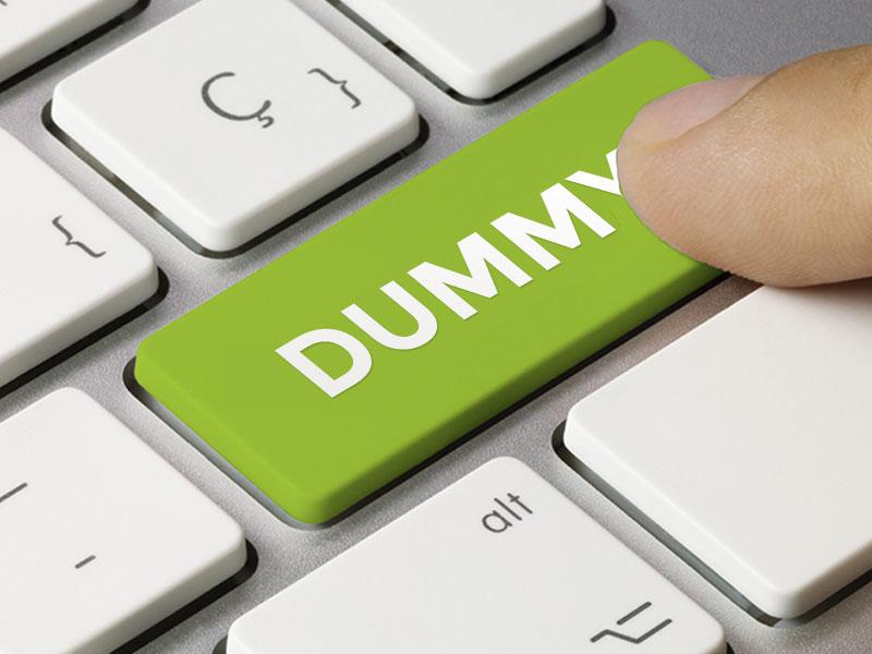 Dummy Konten, Mudahkan Pengguna Baru Kelola Website