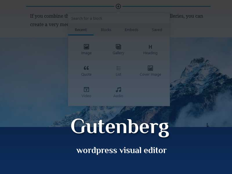 Gutenberg, Inovasi Baru Visual Editor Wordpress