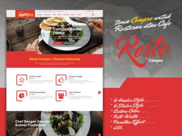Compro Resto - Tema Untuk Resto Dan Cafe - Tema Wordpress Indonesia