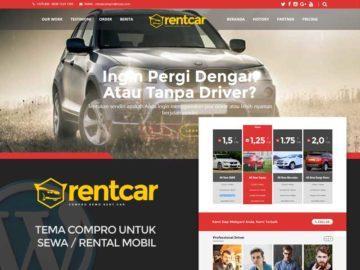 Compro Rent Car - Tema Wordpress Rental Mobil / Sewa Mobil - Tema Wordpress Indonesia