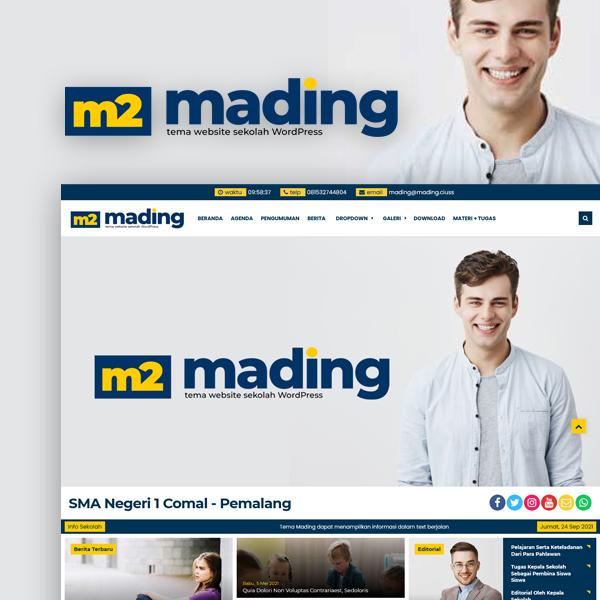 Tema WP Mading 2.0