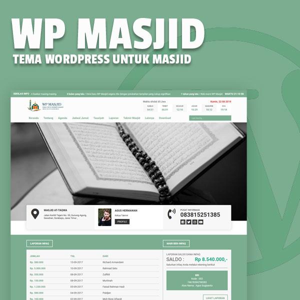Tema WP Masjid