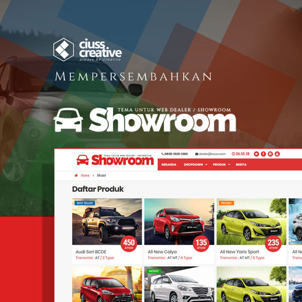 Tema WP Showroom