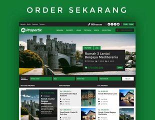 Tema Propertix 2.0 Support Multi Agen Property