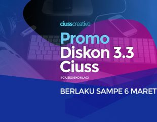 Promo Diskon 3.3 Ciuss, Hingga 6 Maret
