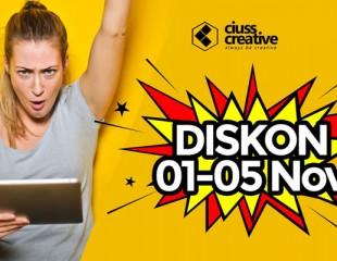 Ciuss Diskon 01 - 05 November, Hemat 20%