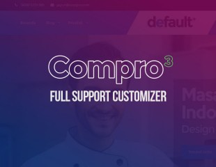 Update Compro 3, Full Support WP Customizer