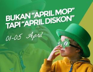 Welcome April, Waktunya Diskon 20%