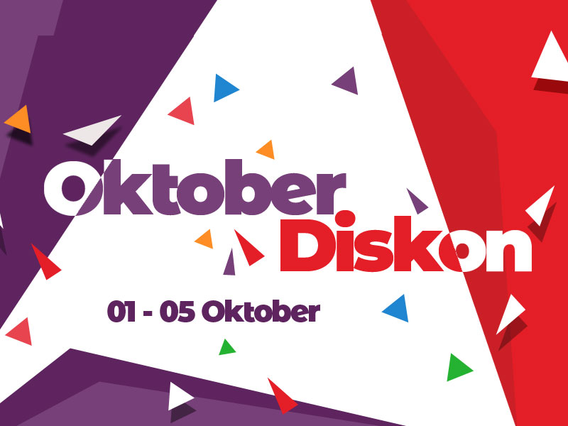 HOT : 1 - 5 Oktober, Diskon 20% Tema Ciuss