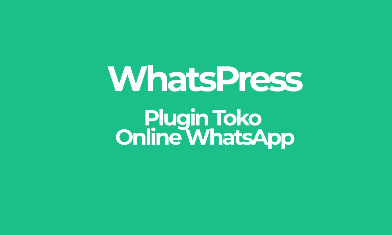 WhatsPress, Plugin Toko Online WhatsApp